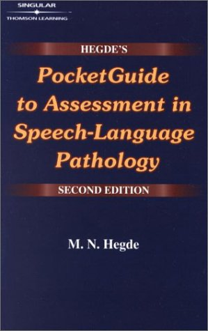 Pocket Guide to Assessment in Speech-Language Pathology