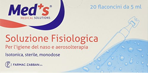 Sterile Kochsalzlösung Nasenhygiene 20x5ml Fläschchen