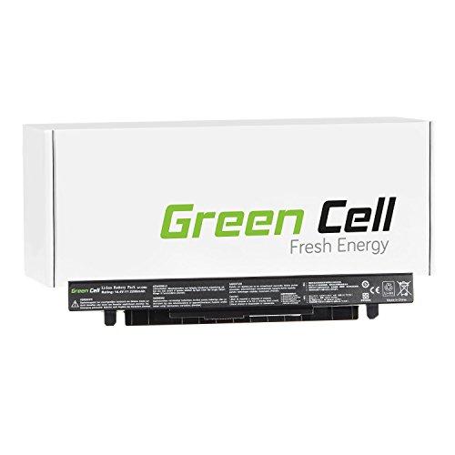 Green Cell® Standard Serie A41-X550A Laptop Akku für Asus A450 A550 F450 F550 F550C F550L F552 F552C F552CL K550 K550C X450 X552 (4 Zellen 2200mAh 14.4V Schwarz)