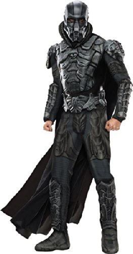 (Man of Steel General Zod Deluxe Kostüm, Größe:L)