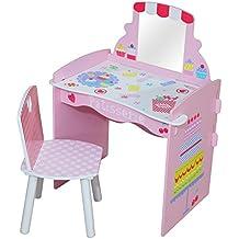 Kidsaw Patisserie–Tocador y silla, 40x 56x 79cm, multicolor