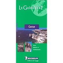 Michelin Green Guide Corse (Michelin Green Guide Corse (French))