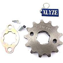 XLYZE 420 13 dientes 20mm engranaje de la rueda del motor delantero Gear para chino 50cc