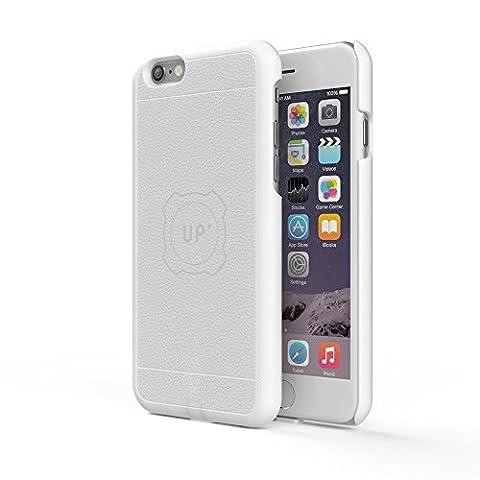 Exelium UPMAI6SW Apple iPhone 6S Schutzhülle/Cover mit magnetischer Induktionsladefunktion, weiß