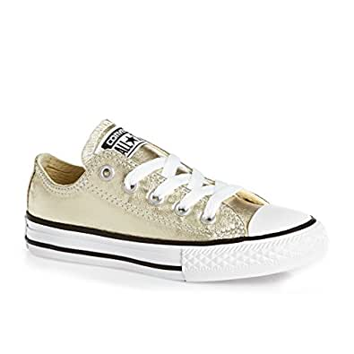 Converse All Star Low Youth Gold Metallic - 1 youth UK