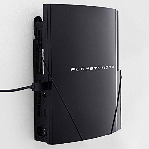 Wandhalterung für PlayStation 3 Fatboy von FLOATING GRIP® - Zum Patent angemeldet durch FLOATING GRIP ApS - Made in - Schrauben Ps3-controller