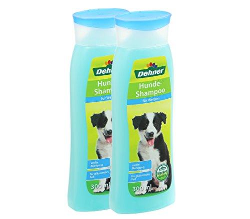 Dehner Hundeshampoo für Welpen, 2 x 300 ml (600 ml) (Welpen-shampoo)