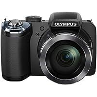 Olympus DISP820N, Fotocamera Digitale da 16 Megapixel, Colore Nero