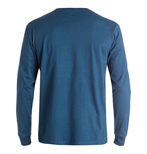 DC Shoes - Maglietta, manica lunga, uomo Ensign Blue