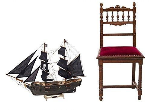 Modello di nave Pirate Ship nave modello di nave in legno Pirate Pirate Ship