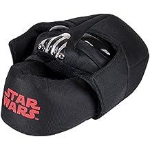 Star Wars - Zapatillas de estar por casa cerrada, color negro