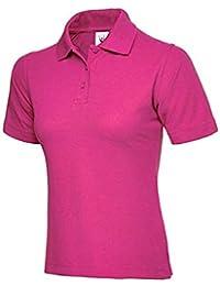 Uneek UC106 Polyester/Cotton Ladies Pique Polo Shirt