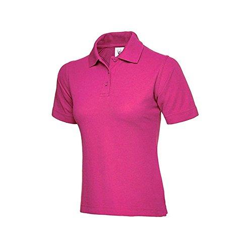Uneek clothing -  Polo  - Polo - Polo  - Maniche corte - Donna Hot Pink