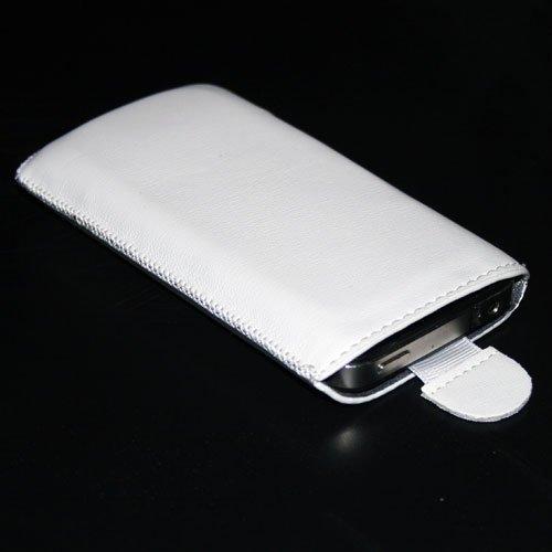Handytasche passend für Kazam Kazam Tornado 2 5.0 Handy Tasche Schutz Hülle Slim Case Cover Etui weiss