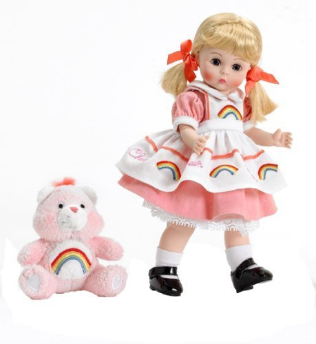 Madame Alexander Dolls Wendy Loves Cheer Care Bear , 8