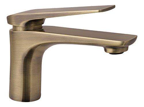 Einhandmischer Orva für Waschtisch, Bronze