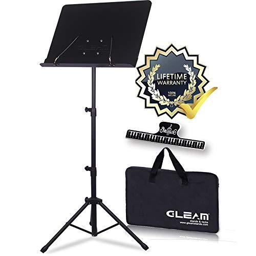 GLEAM Sheet Music Stand Metal wi...