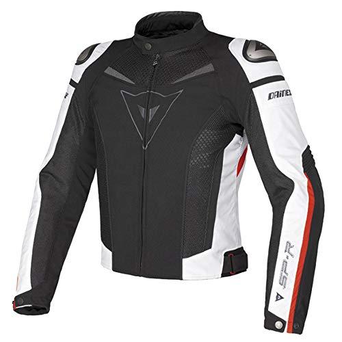 Giacca da moto comodo traspirante sicurezza uomini e donne giacca da moto,black+red-m