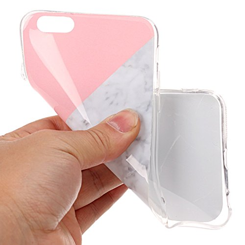 GR TPU Cover für Apple IPhone 6 6s Plus Case Marbling Texture Soft TPU Cover Slim Ultra Thin Anti-Kratzer Schock Absorption Schutzmaßnahmen zurück Deckung Shell ( Color : J ) H
