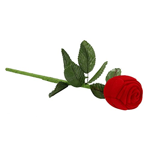 Dtuta Verlobungsringohrringe Der Kreativen Romantischen Rosafarbenen Form SchöNe Aufbewahrungsbox