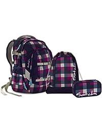 7902e8ae2c3ea Satch Pack - Schulrucksack Set 3-tlg. Berry Carry (SchlamperBox und  Turnbeutel)
