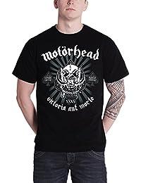 Motorhead Shirt 40th Victoria Aut Morte Classic warpig Official Mens Black