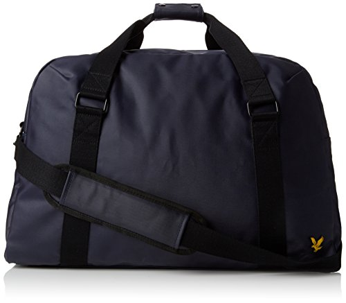 Lyle & Scott - Coated Canvas Holdall, Borsa con Maniglia Unisex - Adulto Blue (Navy)