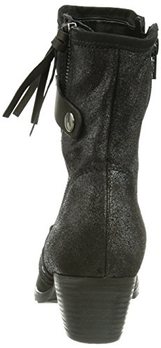 Gabor Shoes 96.603.47 Damen Kurzschaft Stiefel Schwarz (schwarz (Micro))
