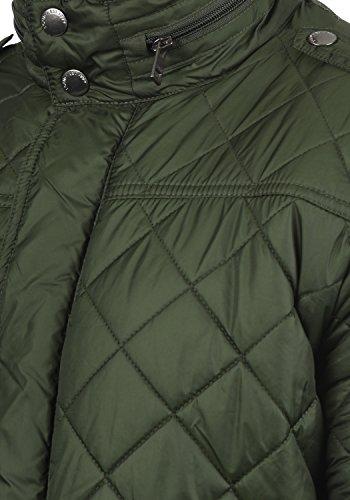 !Solid Safi Herren Steppjacke Übergangsjacke Jacke Mit Stehkragen, Größe:S, Farbe:Rosin (3400) - 4