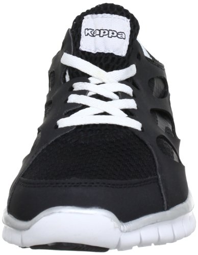 Kappa Fox, Baskets mode mixte adulte Multicolore (1110 Black/White 1110 Black/White)