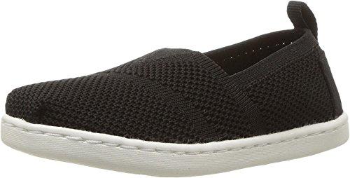 TOMS - Kleine Strick Apalgrata Slip-On Schuhe, 22 EUR, Black Mesh