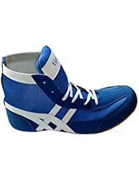 TETHEEZ Victall Unisex PU A4 blue sports Boxing Shoes