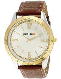 KILLER Silver Dial Men's Watch KLW072C