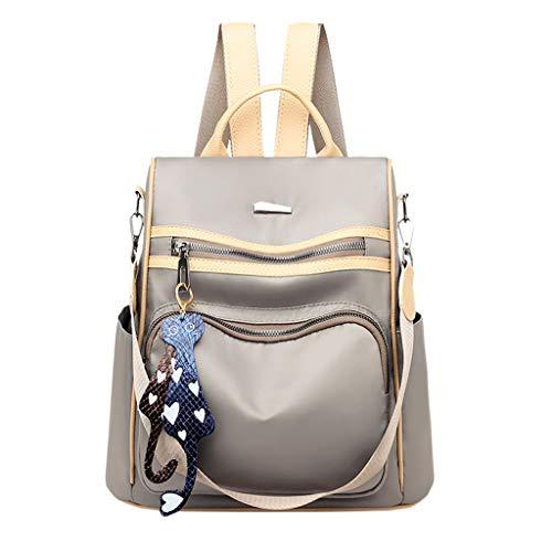 Ncenglings Damen Rucksack Handtaschen Nylon Daypack Umhängetasche Reiserucksack Schulrucksack Mode Backpack Schultertasche PU Leder Anti Diebstahl Tasche für Schule Reise Arbeit -