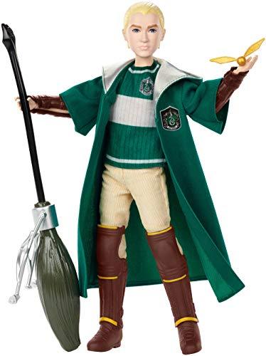 Mattel Harry Potter GDJ71 Harry Potter und Die Kammer des Schreckens Draco Malfoy Quidditch ()