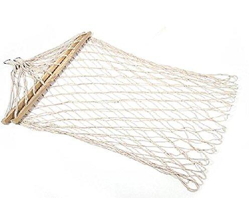 Outdoor Hammock Mesh Coarse Cotton Swing Sticks With Coarse Mesh