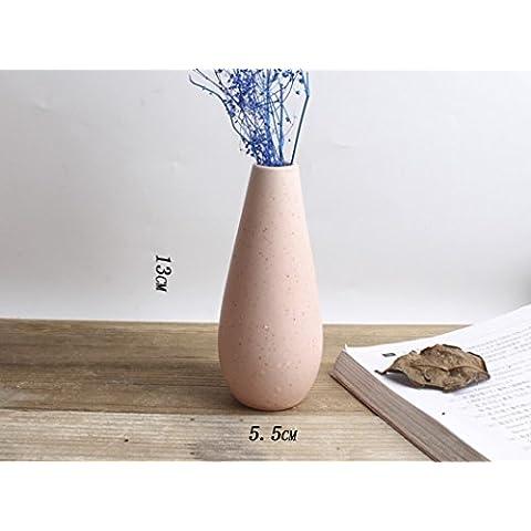 Decorativo Regali Vaso di ceramica artigianato moderno casa decorazioni A