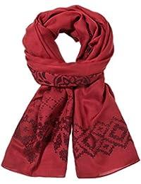 Desigual Damen Umschlagtuch Foulard_Rectangle Wool