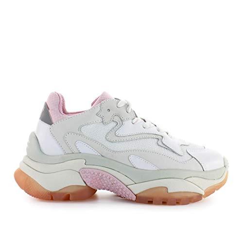 ASH Scarpe da Donna Sneaker Addict Bianco Rosa Primavera Estate 2019