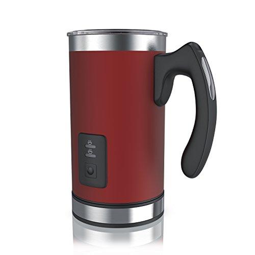 Arendo - Edelstahl Milchaufschäumer automatisch | Milk Frother | rostfreies...
