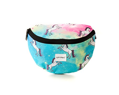 Spiral Unicorn Universe Bum Bag Sac Banane Sport, 24 cm, 3 liters, Multicolore (Multi)