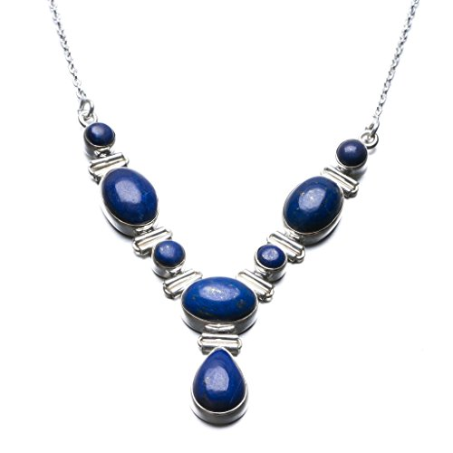 stargems-tm-lapis-lazuli-naturelle-design-unique-en-argent-sterling-925-collier-18-1-51-cm