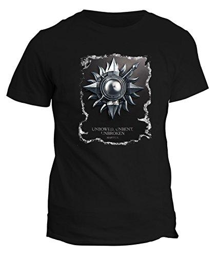 Tshirt scudo MARTEL CASATA sigillo GAME OF THRONES - in cotone by Fashwork