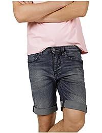 Denzel seab - Jeans regular bleu stretch - Homme