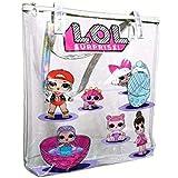 Pumpkin House LOL Surprise Printed Clear Transparent Tote Bags Shoulder Bag for Girls Art Bag