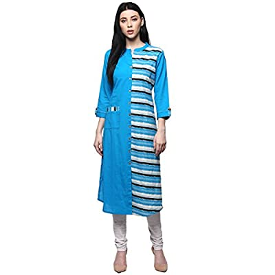 Rangmanch by Pantaloons Women's Cotton Flex Kurta