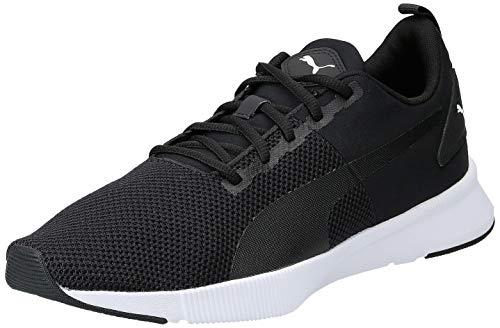 Puma Unisex-Erwachsene Flyer Runner Laufschuhe, Schwarz Black White, 45 EU