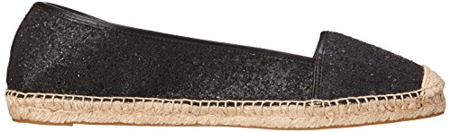 Nine West Womens Bigapple Synthetic Ballet Flat Black/black