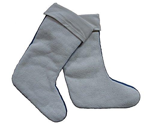 Christie , bottes en caoutchouc mixte enfant Beige - lange Stiefel