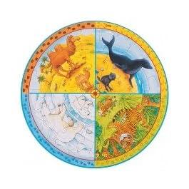 goki maderapuzzles di maderagokixxl Puzzle Animali, Multicolore (1)